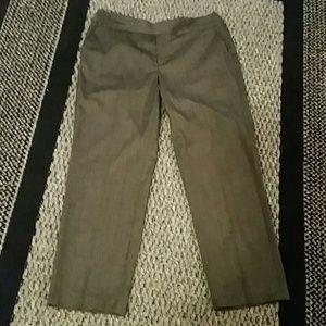 C.J. Banks, Dark Gray Stretch Trousers, Size 14W